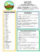 Reading Street 4th grade Unit 5 Study Guide Bundle