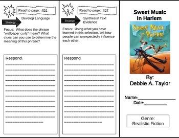 Reading Street 5th Grade Sweet Music of Harlem