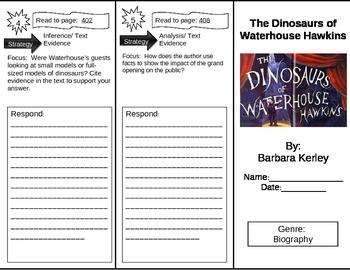 Reading Street 5th Grade The Dinosaurs of Waterhouse Hawki