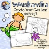 "Reading Street 5th Grade ""Weslandia"" - Create Your Own Lan"
