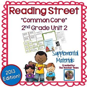 Reading Street 2nd Grade Unit 2 Supplemental Materials 2013