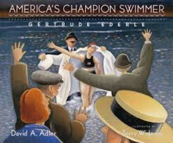 "Reading Street ""America's Champion Swimmer:  Gertrude Eder"
