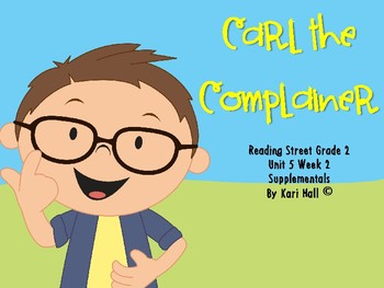 Reading Street Carl the Complainer Unit 5 Week 2 Different