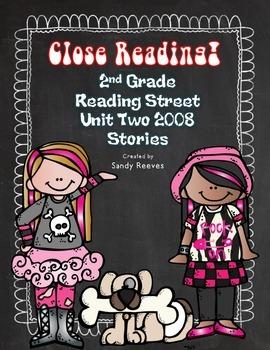 Reading Street Close Reading 2008 Unit 2 Bundled! Tara and