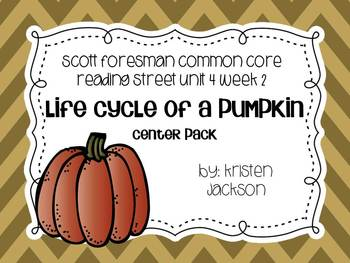 Reading Street Common Core 2nd Grade Life Cycle of a Pumpk