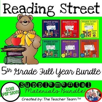 Reading Street Common Core 5th Grade Units 1-6 Full Year B