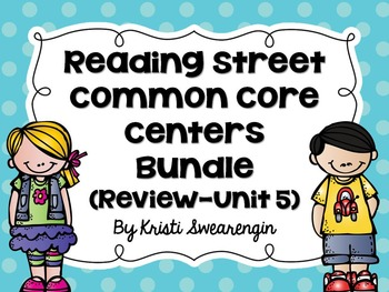 Reading Street Common Core Centers First Grade Complete Bu