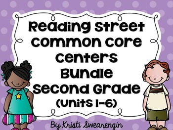 Reading Street Common Core Centers Second Grade Complete B