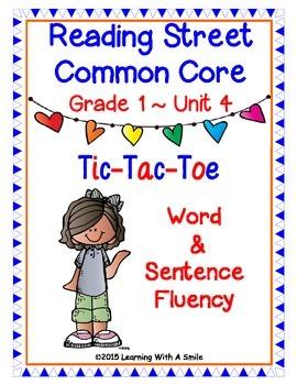 Reading Street Common Core First Grade FLUENCY Unit 4: TIC