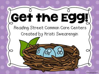 Reading Street Common Core Get the Egg! Centers Unit 1 Week 5