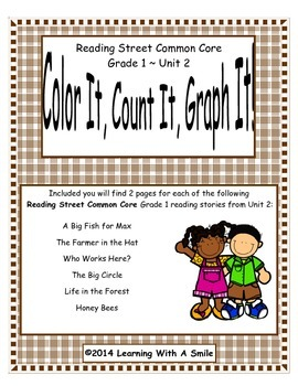 Reading Street First Grade Spelling Unit 2 Color It, Count