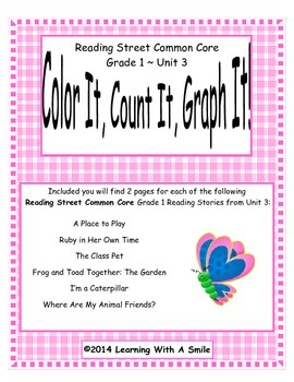 Reading Street First Grade Spelling Unit 3 Color It, Count