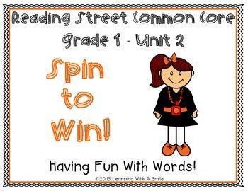 Reading Street First Grade UNIT 2 Spelling, HF, Story Word