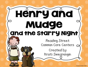 Reading Street Common Core Henry and Mudge and the Starry
