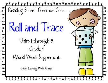 Reading Street First Grade Spelling and High Frequency Rol