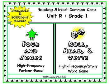 Reading Street FIRST GRADE (UNIT R) High Frequency/Story W