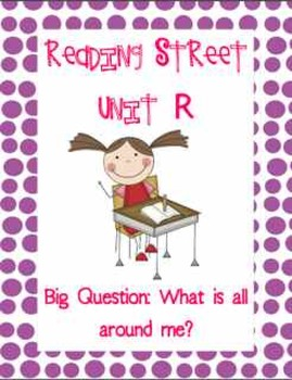 Reading Street Common Core Version Unit R Organizational B
