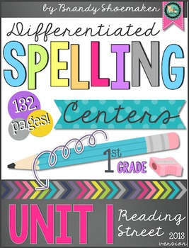 Reading Street Differentiated Spelling: First Grade Unit 1