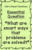 Reading Street Essential Questions Posters - green chevron