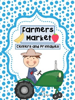Reading Street, Farmers Market,  Centers and Printables Fo