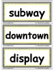 Reading Street First Grade AMAZING WORDS: Word Walls/ Pock