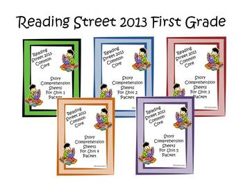 Reading Street First Grade Comprehension Sheets