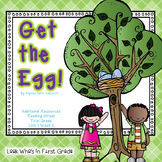 """Reading Street First Grade """"Get the Egg!"""" Additional Resources"""