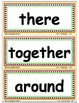 Reading Street First Grade HIGH FREQUENCY Word Walls/ Pock