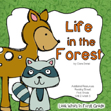 """Reading Street First Grade """"Life in the Forest"""" Additional"""