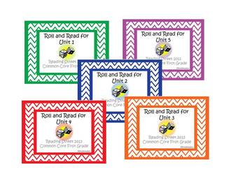 Reading Street First Grade Roll and Read Packet