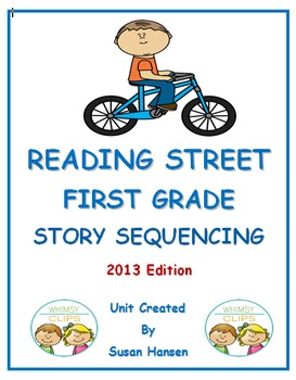 Reading Street First Grade Sequencing Unit
