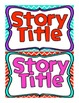 Reading Street First Grade Story Title Headers for Focus W