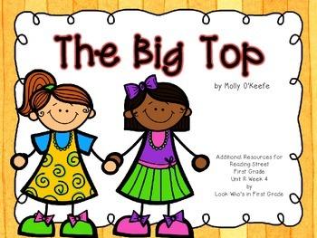 "Reading Street First Grade Unit R Week 4 ""The Big Top"" Add"