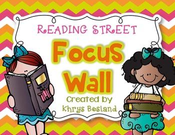 Reading Street Focus Wall - Kindergarten-EDITABLE {Entire