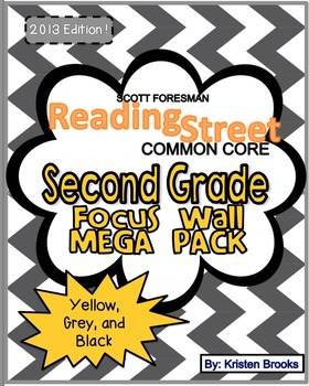 Reading Street Focus Wall Mega Pack: Second Grade (Grey, B