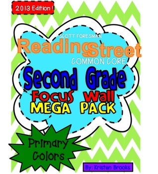 Reading Street Focus Wall Mega Pack: Second Grade (Primary