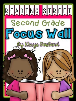 Reading Street Focus Wall - Second Grade-EDITABLE {Entire