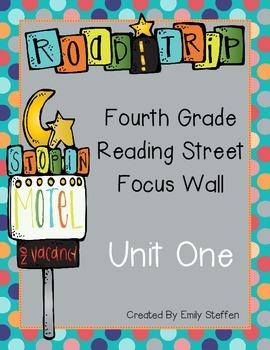 Reading Street Focus Wall - Unit 1 (Fourth Grade)