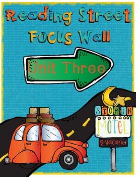 Reading Street Focus Wall - Unit 3 (Third Grade)