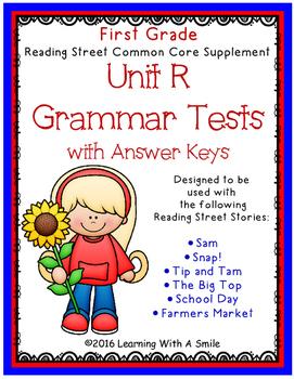 Reading Street GRADE 1 Supplement -  Grammar Tests UNIT R