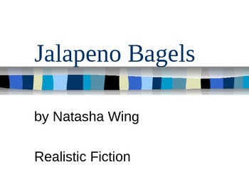 Reading Street Gr. 3- Discussion Questions - Jalapeno Bagels