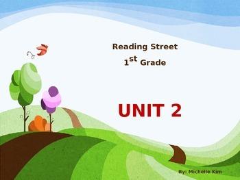 Reading Street Grade 1 Unit 2  (Amazing Words / Slection W