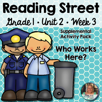 Reading Street - Grade 1 Unit 2 Week 3 Activity Pack