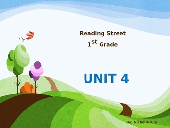 Reading Street Grade 1 Unit 4 (Amazing Words / Slection Wo