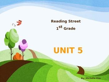 Reading Street Grade 1 Unit 5 (Amazing Words / Slection Wo