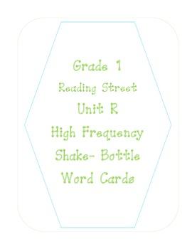 Reading Street- Grade 1- Unit R- Shake a Word