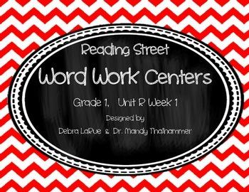 Reading Street Grade 1 Unit R Week 1 Word Work