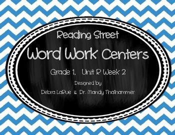 Reading Street Grade 1 Unit R Week 2 Word Work