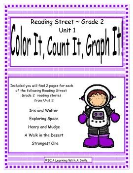 Reading Street Second Grade Unit 1 Literacy Fun:Color It,