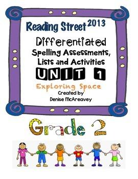 Reading Street Grade 2 UNIT 1 Exploring Space Differentiat
